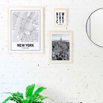 Set 3 cuadros New York